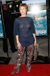 Sharon Lawrence photo arriving at the premiere of Anchor Bay Films ( Spread ) held at ArcLight Hollywood on August 3rd, 2009