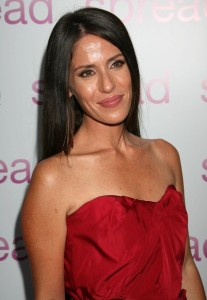 Soleil Moon Frye photo in a strapless red dress at the premiere of Anchor Bay Films ( Spread ) held at ArcLight Hollywood on August 3rd, 2009