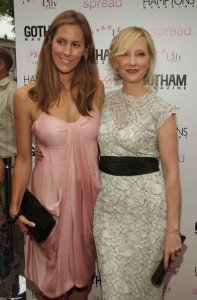 Anne Heche with Cristina Cuomo at the special screening of Spread movie on August 8th, 2009