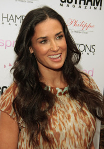 Demi Moore at the special screening of Spread movie on August 8th, 2009