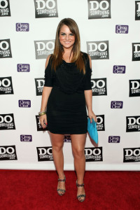 jojo at the DoSomething.org Celebration of The Power Of Youth party on August 8, 2009