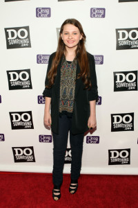 Abigail Breslin at the DoSomething.org Celebration of The Power Of Youth party on August 8, 2009