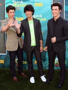 Jonas Brothers picture at the 2009 Teen Choice Awards held at the Gibson Amphitheatre on August 9th, 2009 in Universal City, California