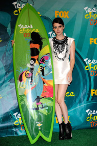 Emma Roberts picture at the 2009 Teen Choice Awards held at the Gibson Amphitheatre on August 9th, 2009 in Universal City, California