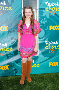 Abigail Breslin photo at the 2009 Teen Choice Awards held at the Gibson Amphitheatre on August 9th, 2009 in Universal City, California