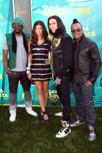 Black Eyed Peas photo at the 2009 Teen Choice Awards held at the Gibson Amphitheatre on August 9th, 2009 in Universal City, California
