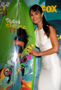 Jordana Brewster photo at the 2009 Teen Choice Awards held at the Gibson Amphitheatre on August 9th, 2009 in Universal City, California