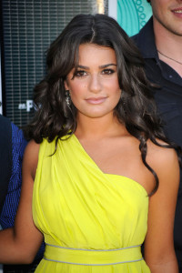 Lea Michele photo at the 2009 Teen Choice Awards held at the Gibson Amphitheatre on August 9th, 2009 in Universal City, California
