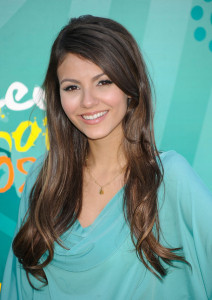 Victoria Justice photo at the 2009 Teen Choice Awards held at the Gibson Amphitheatre on August 9th, 2009 in Universal City, California