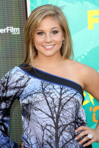 Shawn Johnson photo at the 2009 Teen Choice Awards held at the Gibson Amphitheatre on August 9th, 2009 in Universal City, California