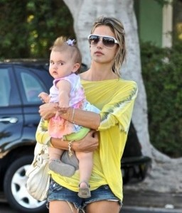 Alessandra Ambrosio spotted playing with her little daughter Anja Louise at a park in Santa Monica on July 7th 2009 2