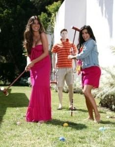Kim Kardashian professional Photoshoot of August 2009 with her friend Brittny Gastineau 1