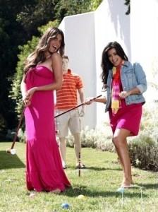 Kim Kardashian professional Photoshoot of August 2009 with her friend Brittny Gastineau 2