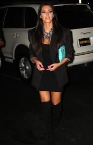 Kim Kardashian picture leaving Madame Royale Nightclub on August 3rd 2009 5