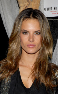 Alessandra Ambrosio photo at Fernanda Motta birthday party at Table 55 in New York City on May 28th 2009 2