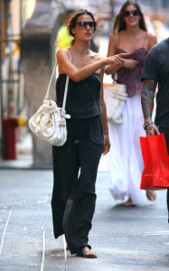 Alessandra Ambrosio photo out in New York City on August 10th 2009
