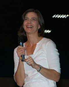 Terry Farrell at the 2007 Star Trek Las Vegas Convention