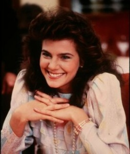 Terry Farrell smiling