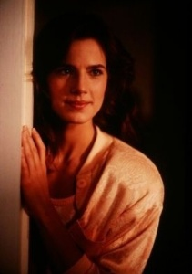 Terry Farrell still from an acting scene