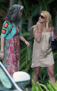 Britney Spears photo while spotted arriving to a Los Angeles studio on August 14th 2009 3