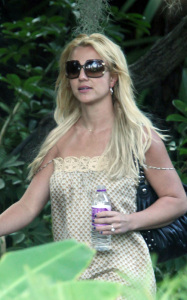 Britney Spears photo while spotted arriving to a Los Angeles studio on August 14th 2009 8