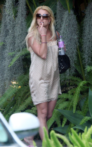 Britney Spears photo while spotted arriving to a Los Angeles studio on August 14th 2009 6