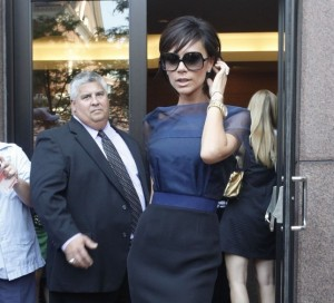 Victoria Beckham picture as she arrives for the 2nd day of auditions for American Idol on August 14th 2009 in Boston 4