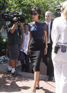 Victoria Beckham picture as she arrives for the 2nd day of auditions for American Idol on August 14th 2009 in Boston 3