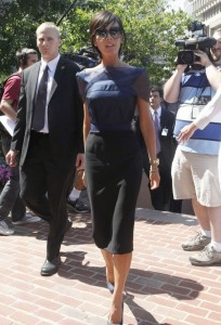 Victoria Beckham picture as she arrives for the 2nd day of auditions for American Idol on August 14th 2009 in Boston 9