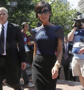 Victoria Beckham picture as she arrives for the 2nd day of auditions for American Idol on August 14th 2009 in Boston 8