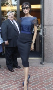 Victoria Beckham picture as she arrives for the 2nd day of auditions for American Idol on August 14th 2009 in Boston 7