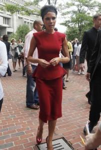 Victoria Beckham photo as she arrives at the American Idol auditions on August 13th 2009 in Boston 2