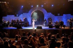 Nancy Ajram at Zouk Mikael International Festival in Lebanon August 2009 5