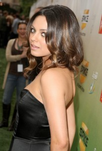 Mila Kunis arrives at Spike TVs 2009 Guys Choice Awards held held at the Sony Studios on May 30th 2009 2