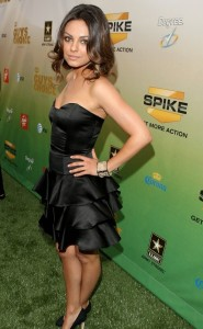 Mila Kunis arrives at Spike TVs 2009 Guys Choice Awards held held at the Sony Studios on May 30th 2009 1