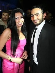 Picture of Mirhan Hussein from Egypt with Tamer Husni