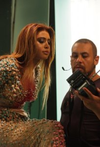Nawal Zoghbi 2009 photoshoot promo for her new album record 9