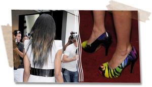 Ciara Hair or Avril shoes