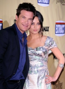 Mila Kunis with Jason Bateman at the premiere of their new movie Extract held at ArcLight Hollywood on August 24th 2009 in Los Angeles 10