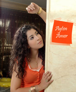 Ayten Amer desktop wallpapers orange queen