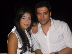 Ayten Amer picture with a friend