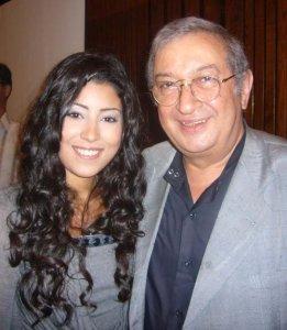 Ayten Amer with actor Noor Sherif