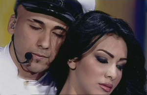 Mohamad Qwaider photo during star academy season 5 hugging Mirhan Hussein