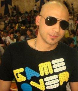 Mohamad Qwaider personal photo wearing dark sun glasses