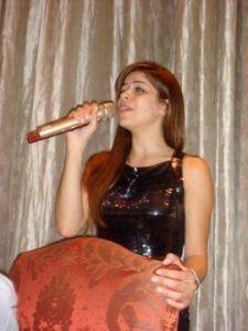 Diala Odeh singing