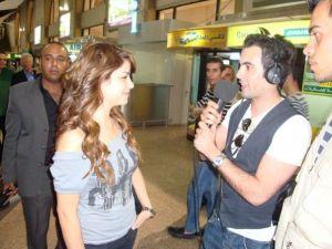 Diala Odeh interviewd in amman jordan