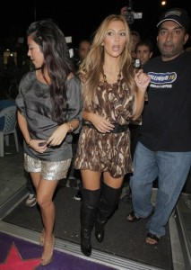 kim kardashian picture at Millions of Milkshakes with Rob and Kourtney on August 30th 2009 5
