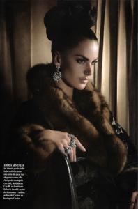 Alessandra Ambrosio photo shoot of Vogue Mexico 2006 issue 3