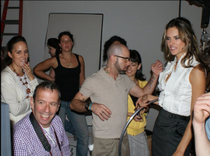 Alessandra Ambrosio photos Backstage at the liverpool runway show in mexico city on August 28th 2009 1