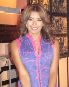 Amal Boshoshah in a new TV program in Abu Dabi